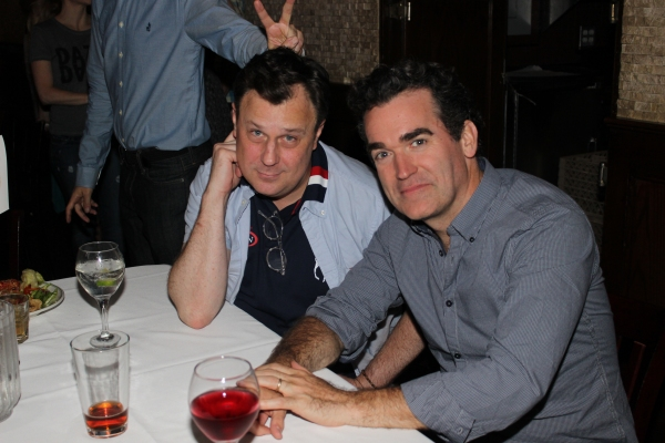Brooks Ashmanskas and Brian d''Arcy James
