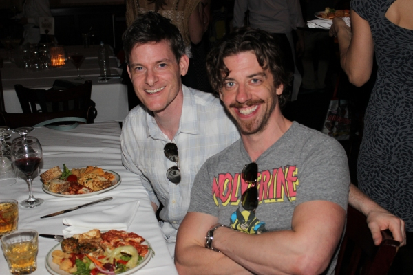 Brian Shepard and Christian Borle