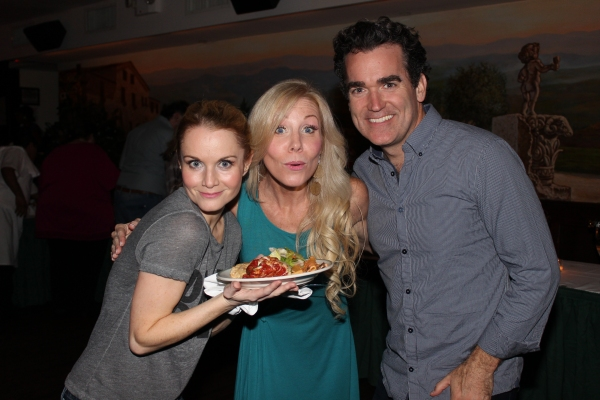 Kate Reinders, Jenny Hill and Brian d''Arcy James