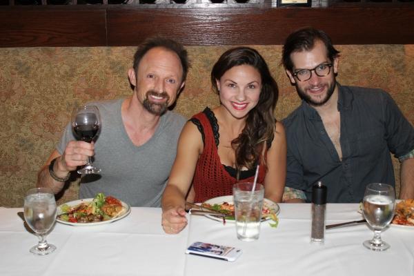 Matt Allen, Chelsea Morgan Stock and Ryan VanDenBoom Photo