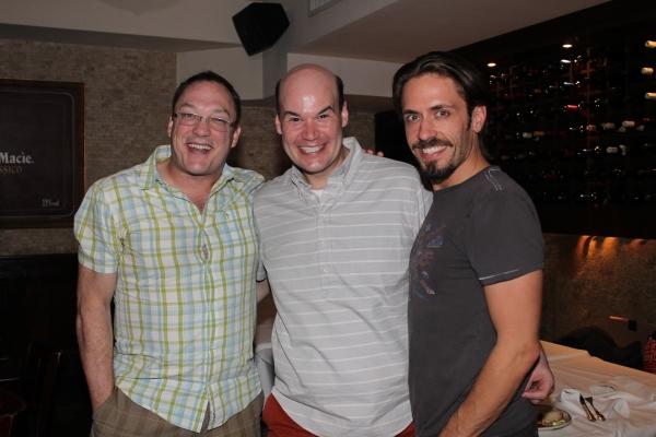 Patrick Wetzel, Aaron Kaburick and Eric Sciotto