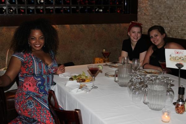 Marisha Wallace, Scout Isensee and Lacie Bonanni