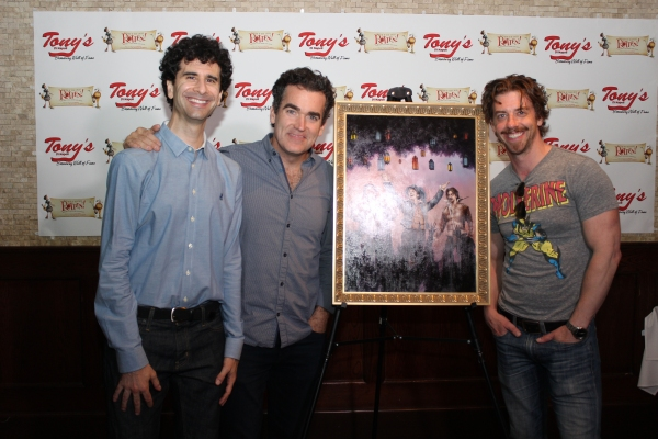 Photo Coverage: SOMETHING ROTTEN Stars Gather for Portrait Unveiling at Tony's di Napoli