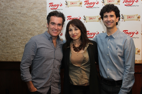 Brian d''Arcy James, Valerie Smaldone and John Cariani