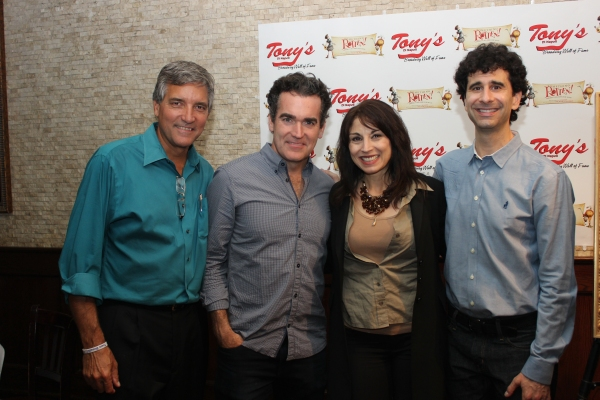 Bruce Dimpflmaier, Brian d''Arcy James, Valerie Smaldone and John Cariani
