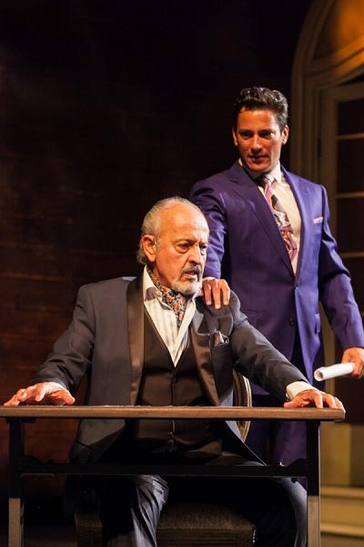 Cástulo Guerra as Armando Castillo and Nicholas Rodriguez as Sebastian Jose Castillo