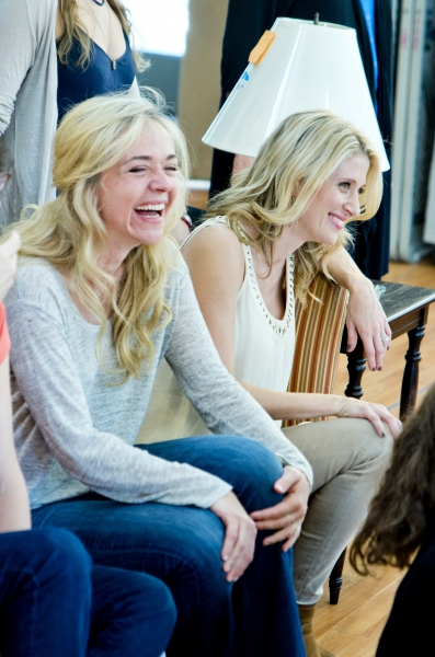 Rachel Bay Jones and Caissie Levy