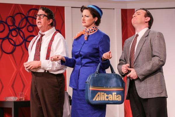 Robert (Robert Alan Barnett), Gabriella (Holly Rose), Bernard (Greg Lucas)