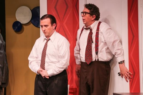 Bernard (Greg Lucas), Robert (Robert Alan Barnett)