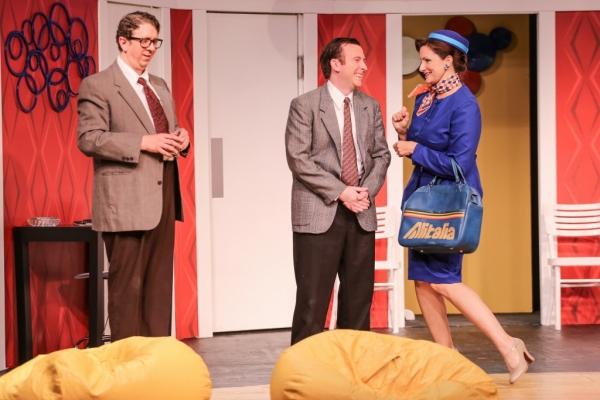 Robert (Robert Alan Barnett), Bernard (Greg Lucas), Gabriella (Holly Rose)