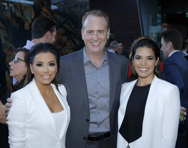 Eva Longoria, ''Hot and Bothered''; Robert Greenblatt, Chairman, NBC Entertainment; America Ferrera, ''Superstore''