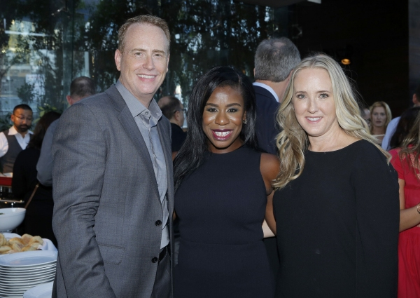 Robert Greenblatt, Chairman, NBC Entertainment; Uzo Aduba, ''The Wiz Live!''; Jennifer Salke, President, NBC Entertainment
