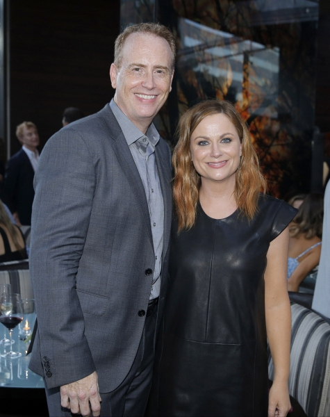 Robert Greenblatt, Amy Poehler Photo