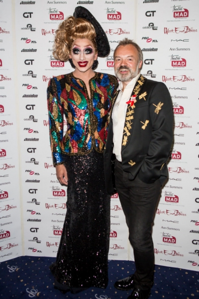 Bianca Del Rio and Graham Norton