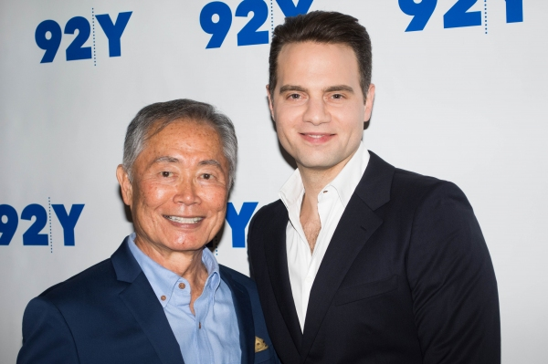 Photos: ALLEGIANCE's George Takei and Jordan Roth at the 92Y