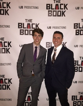Producer of THE BLACK BOOK, Danny Bateman, and writer, Phil Blechman
