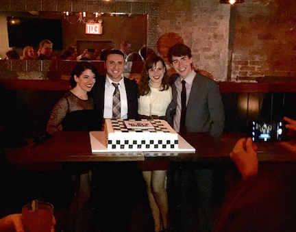 Photo Flash: THE BLACK BOOK Celebrates Opening Night Off-Broadway