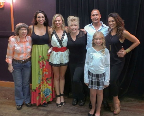 ANDREA McCULLOUGH, KIM MARESCA, LAURA BELL BUNDY,