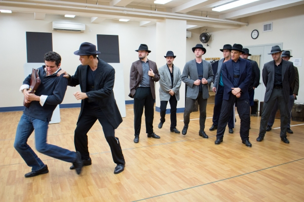 Photo Coverage: BULLETS OVER BROADWAY National Tour Company Meets the Press - Performance Sneak Peek!