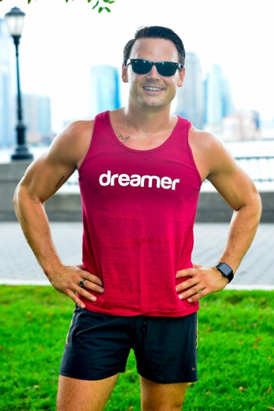 Photo Flash: Adam Sansiveri to Run New York City Marathon in Support of Broadway Dreams