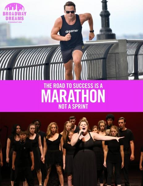 Photos: Adam Sansiveri to Run New York City Marathon in Support of Broadway Dreams