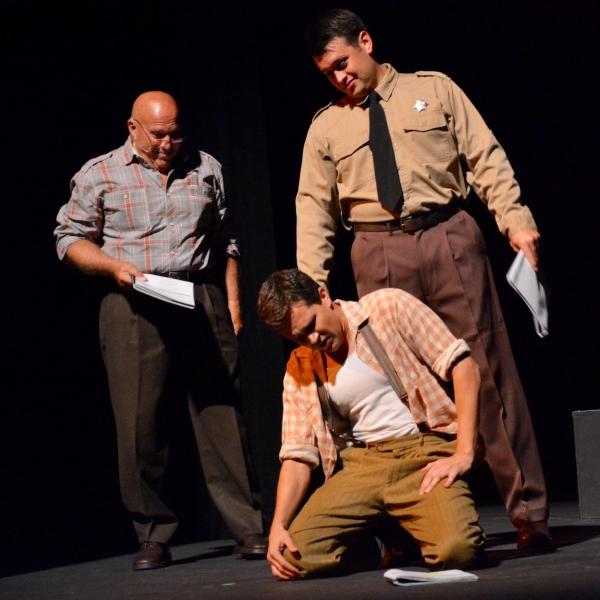 Chuck Bergman, Will Collyer and Tyler Ledon