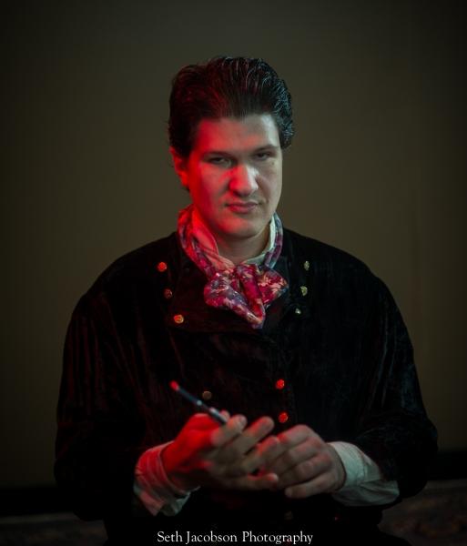 Jason Shealy as Sweeney Todd