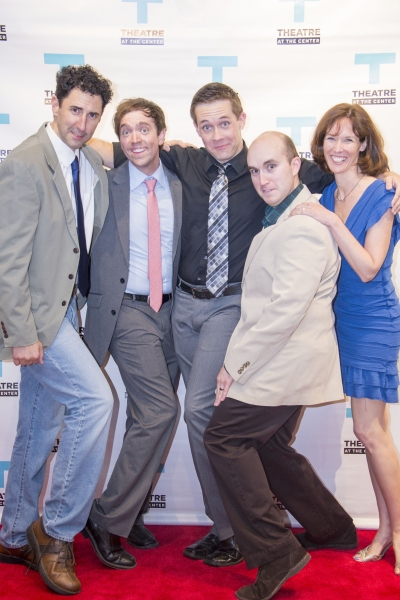 Sean Fortunato, Greg Foster, Patrick Tierney, Jake Mahler, Linda Fortunato Photo