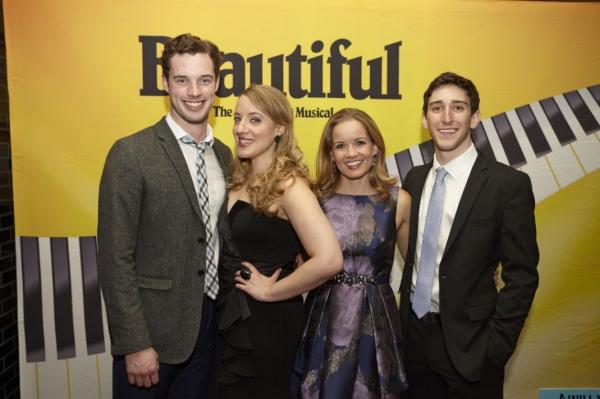 Liam Tobin, Abby Mueller, Becky Gulsvig and Ben Fankhauser