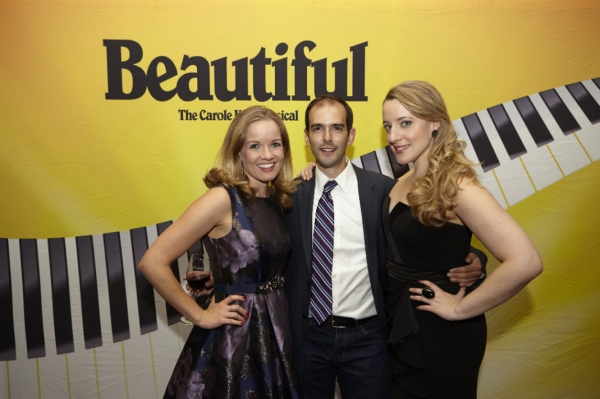 Becky Gulsvig, Director Marc Bruni and Abby Mueller