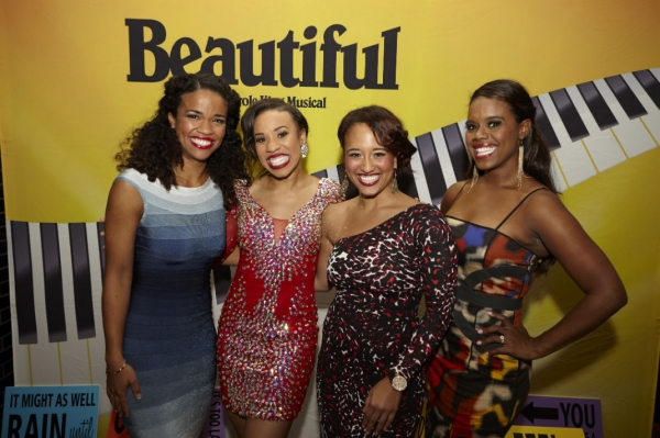 Britney Coleman, Salisha Thomas, Ashley Blanchet and Rebecca E. Covington