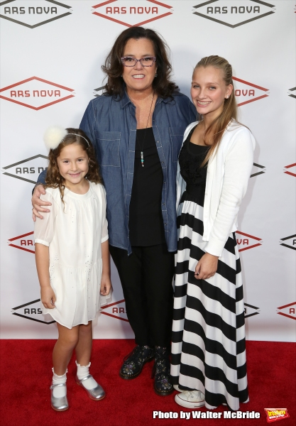 Rosie O'Donnell with daughters
