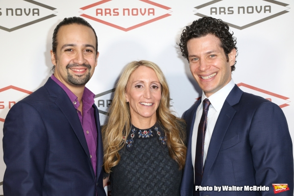 Lin-Manuel Miranda, Jill Furman and Thomas Kail