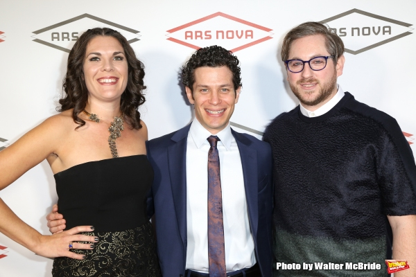 Renee Blinkwolt, Thomas Kail and Jason Eagan  Photo