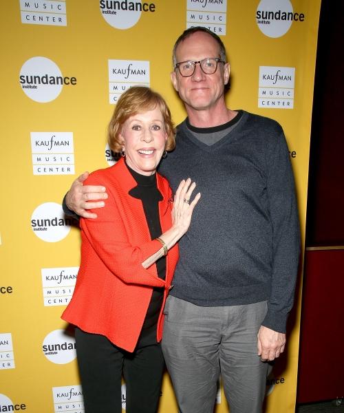 Carol Burnett and Mark Brokaw