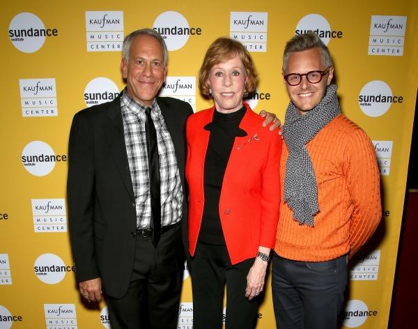Phillip Himberg, Carol Burnett and Christopher Hibma