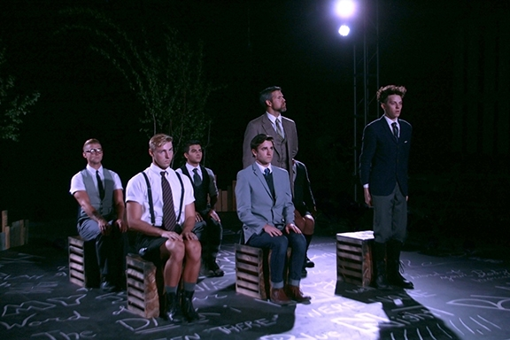 Photo Flash: First Look at Nick Eiter, Emily Chelsea, Austyn Myers and More in SPRING AWAKENING at The Barn Stage Company