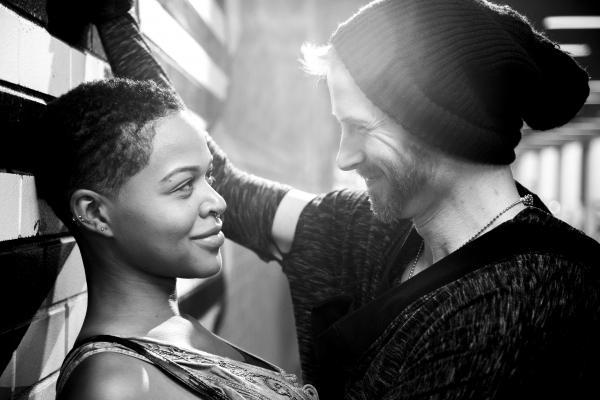 Taylor Robinson as Rosalind and Philip Fletcher as Orlando Photo