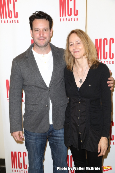 Playwright John Pollono and director Jo Bonney
