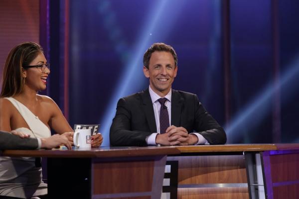 Nicole Scherzinger, Seth Meyers