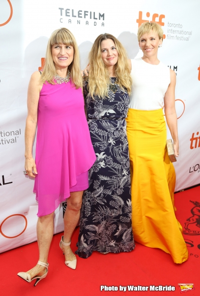 Catherine Hardwicke, Drew Barrymore and Toni Collette