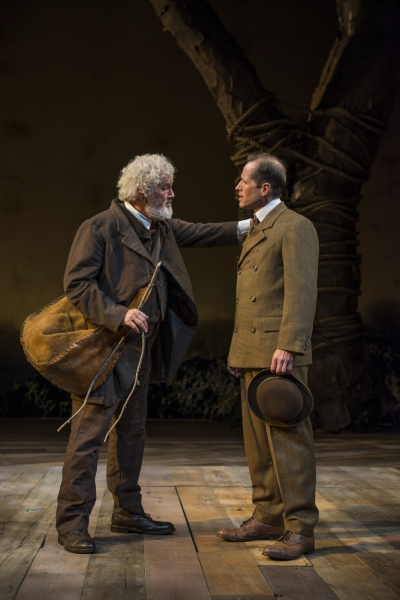 Francis Guinan (Samuel Hamilton) and Tim Hopper (Adam Trask) discuss the land
