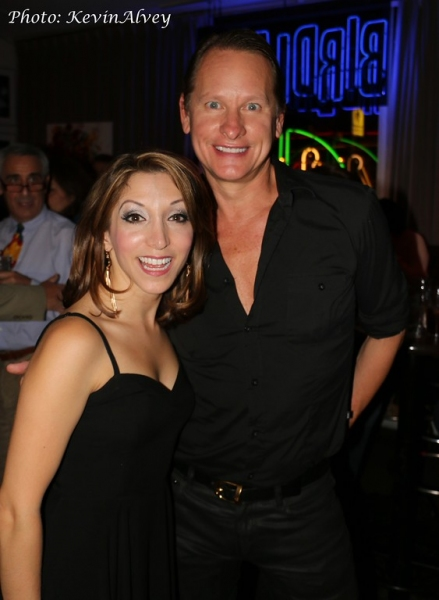 Christina Bianco and Carson Kressley