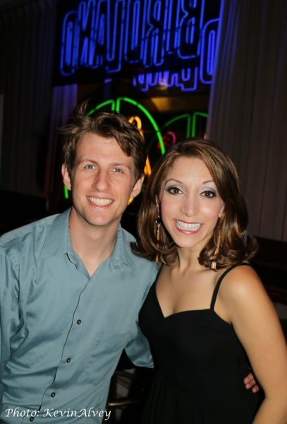 Drew Nichols and Christina Bianco Photo