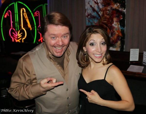 Kevin Alvey and Christina Bianco