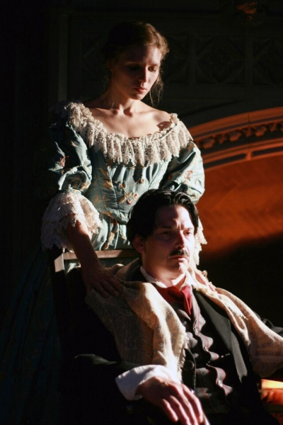 Photo Flash: THE MADNESS OF EDGAR ALLAN POE: A LOVE STORY Opens Tonight at First Folio Theatre