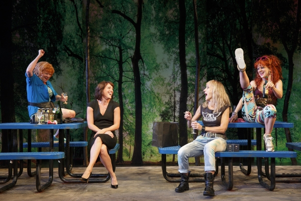 Becky Ann Baker, Samantha Soule, Constance Shulman, and Arden Myrin