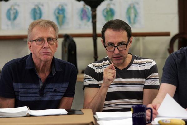 George McDaniel and Frank Vlastnik