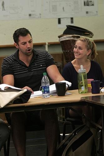 Josh Franklin and Alissa Alter