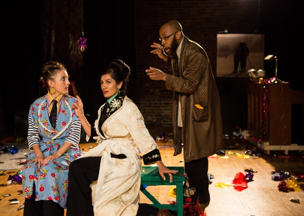 Clare Barron, Purva Bedi and Ugo Chukwu